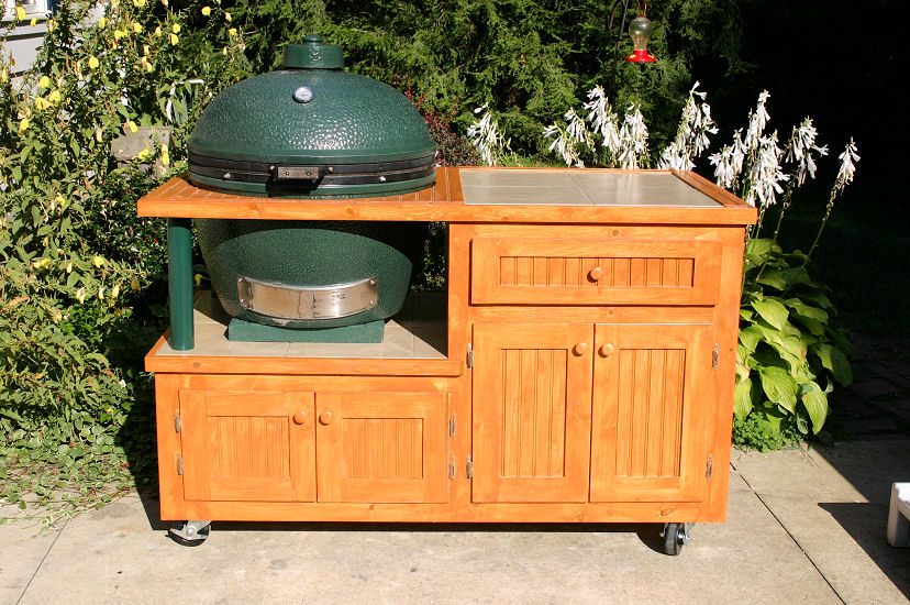 Does anyone have experience with this cart? — Big Green Egg ...