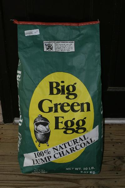 Review Of Big Green Egg Lump Charcoal Naked Whiz