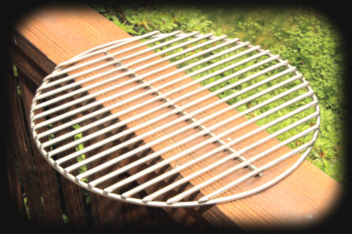 Michael S Custom Grill Works 15 Grid For Um Big Green Egg